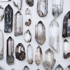 Edelsteine und Kristalle Bild