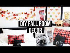 DIY Fall Room Decor: Affordable & Cozy! | LaurDIY - YouTube