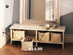 IKEA offers everything from living room furniture to mattresses and bedroom furniture so that you can design your life at home. Check out our furniture and home furnishings! Rooms Ideas, Room Ideas Bedroom, Bedroom Decor, Ikea Furniture, Living Room Furniture, Inspiration Ikea, Grown Up Bedroom, Master Bedroom, Ikea Vanity