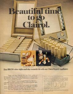Clairol hot rollers.......1970