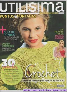 Crochet Books, Love Crochet, Knit Crochet, Knitting Magazine, Crochet Magazine, Crochet Designs, Crochet Patterns, Crochet Ideas, Crochet Gratis
