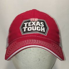 39a6401d490fd HEB Texas Tough Snapback Hat Mens Lightweight Soft Mesh Baseball Cap T108  J9118  HEB