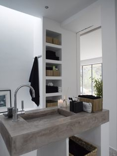 powder bath countertop