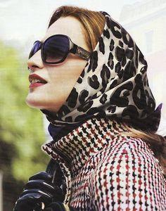 silk scarf style   PattyonSite