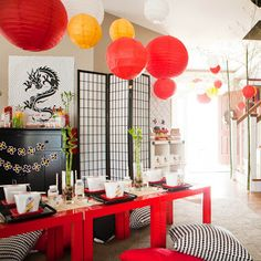 Asian deco idea. X
