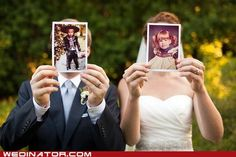 funny wedding photos - The Way We Were - I AM SO DOING THIS.