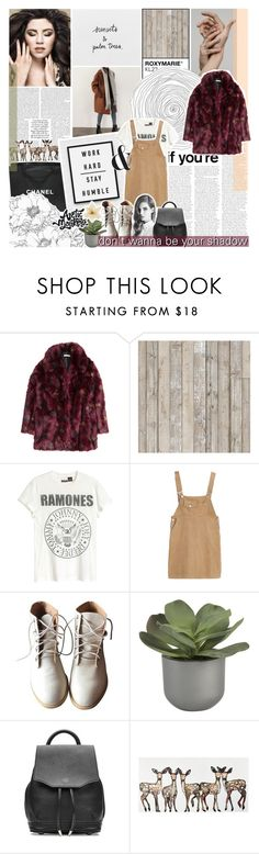 """""""just wanna see my baby smile"""" by roxymarie ❤ liked on Polyvore featuring Dollhouse, H&M, NLXL, Chanel, Kimchi Blue, Crate and Barrel, rag & bone, Clips, bedroom and bathroom"""