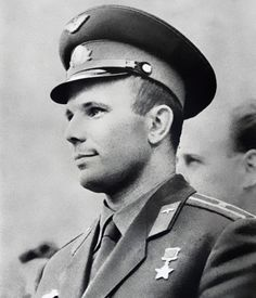 la-brancaro:  sci-universe:  53 years ago today (April 12), Yuri Gagarin, a Soviet pilot and cosmonaut, became the first human to travel into space and change history, when his Vostok spacecraft completed an orbit of the Earth.  So on April 12, Gagarin, who became an international celebrity and hero, is being commemorated for paving the way for future space exploration by the International Day of Human Space Flight (Cosmonautics Day). I really recommend looking him up. There's so much to ...