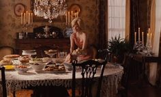 Celia Foote's dining room The Help