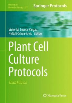 Plant Cell Culture Protocols (Methods in Molecular Biology) de Víctor M. Loyola-Vargas Cell culture methodologies have become standard procedures in most plant laboratories. Currently,  facilities for in vitro cell cultures are found in practically every plant biology laboratory, serving different purposes since tissue culture has turned into a basic asset for modern biotechnology, from the fundamental biochemical aspects to the massive propagation of selected individuals