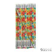 Hibiscus Pencils