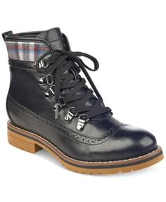 TOMMY HILFIGER Tommy Hilfiger Ollia Lace-Up Booties . #tommyhilfiger #shoes # all women
