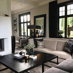 Inspiration For Your Home Living Room Lounge, Living Rooms, Interior And Exterior, Interior Design, First Home, Modern Decor, Interior Inspiration, Decoration, Home Furnishings