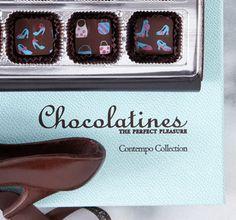 Delicate chocolate! Chocolatines