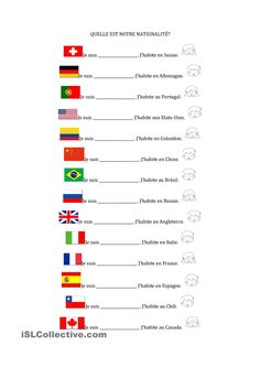 Quelle est notre nationalité