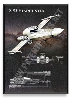 Z-95 Headhunter, Star Wars Poster