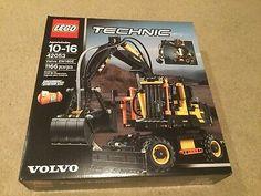 LEGO 42053 Technic Volvo EW160E New In Sealed Box, Rare! Geek Gear, Photography Gear, Lego Technic, Volvo, Box, Snare Drum
