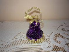 Rękodzieło Marii: Fioletowy dzwonek