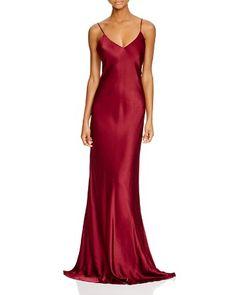 c14c52ae248 ABS by Allen Schwartz V-Neck Slip Gown Women - Dresses - Evening   Formal  Gowns - Bloomingdale s