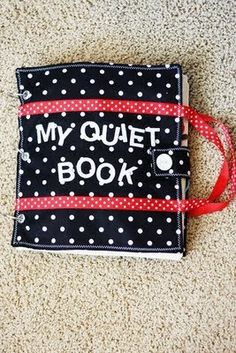 The Craft Patch: Crafty Chicks Quiet Book. Love the handles