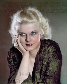 JEAN HARLOW WEARING A GREEN ROBE BEAUTIFUL COLOR PHOTO BY CHIP SPRINGER. Featured Ebay Listing. Please visit my Ebay Store, Legends of the Silver Screen, at http://legendsofthesilverscreen.com to see the current listings of your favorite Stars now in glorious color! Thanks for looking and check out my Youtube videos at https://www.youtube.com/channel/UCyX926rA5x4seARq5WC8_0w