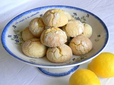 Biscuits tendres au citron (Biscotti morbidi al limone)