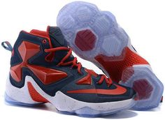 Find 2016 Nike Mens Basketball Sneakers Lebron 13 XIII Red White Navy Blue  388680 online or in Lebronshoes. Shop Top Brands and the latest styles 2016  Nike ... f11b10e69