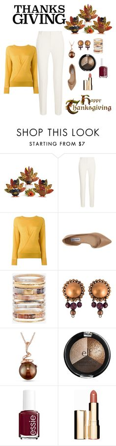 """""""Home for the holidays"""" by tina-pieterse ❤ liked on Polyvore featuring Roland Mouret, Isabel Marant, Steve Madden, Ashley Pittman, Jean-Paul Gaultier, Amour, Essie, Clarins, women's clothing and women's fashion"""