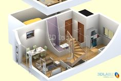 create Interior, Exterior and 3D Floor Plan by teshawn