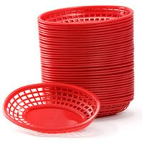 Red Deli Serving Basket 36 Count