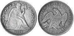 Values of Seated Liberty Dollars 1840 - 1873: http://sammler.com/coins/seated_liberty_dollar.htm