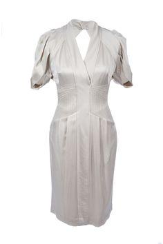 #BCBGMaxazria | Elegantes #Etuikleid mit sexy Rückenausschnitt, Gr. M | BCBG Maxazria | mymint-shop.com | Ihr Online #Shop für Secondhand / #Vintage #Designerkleidung & #Accessoires bis zu -90% vom Neupreis das ganze Jahr #mymint