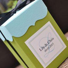 wedding cupcake favor box