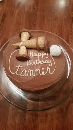 Tanner's Kendama 14th Birthday Cake
