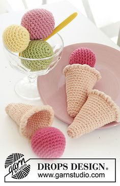 Ravelry: s24-30 Ice Cream Parlor  pattern by DROPS design
