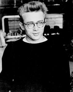 """"""" James Dean visiting the set of Guys and Dolls."""