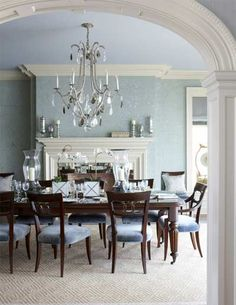DINING ROOM A Feast For The Eyes Classic CT Home With Modern Flair Traditional Dining Room New York Cindy Rinfret