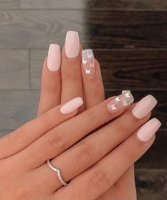 Classy Acrylic Nails, Acrylic Nails Coffin Short, Cute Acrylic Nail Designs, Square Acrylic Nails, Summer Acrylic Nails, Best Acrylic Nails, Coffin Nails, Matte Nail Designs, Teen Nail Designs