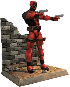 Diamond select toys marvel select deadpool action figure