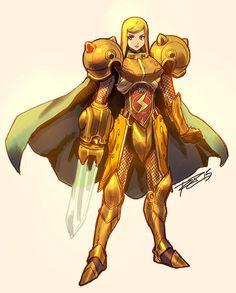 First Knight of the Chozo Order - Dame Samus Aran 02 by Robaato Metroid Samus, Metroid Prime, Samus Aran, Video Game Characters, Female Characters, Video Game Art, Video Games, Character Art, Character Design