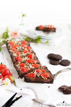 Oreo Schoko Erdbeer Kuchen