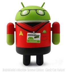 Android Collectible Mini Figure Summer Edition
