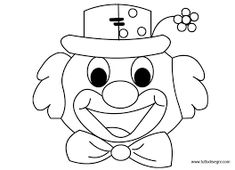 Risultati immagini per maschere da colorare Diy And Crafts, Crafts For Kids, Arts And Crafts, Send In The Clowns, Classroom Themes, Applique Designs, Adult Coloring Pages, Art Sketches, Origami