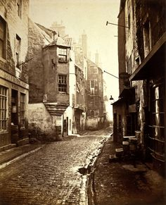 Cardinal Beaton's House, the Cowgate, Edinburgh, 1868