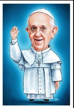 A vitalidade e o carisma do Papa Francisco é incrível!  Deus o abençoe
