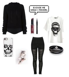 """""""Untitled #215"""" by kayla-2003 on Polyvore featuring Unravel, Revlon, Givenchy, Sif Jakobs Jewellery and Casetify"""