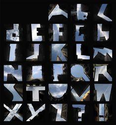 Sky alphabet