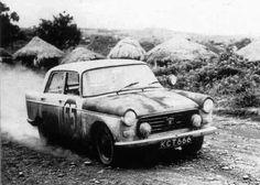 1963 Safari: Nick Nowicki, Peugeot 404, winner