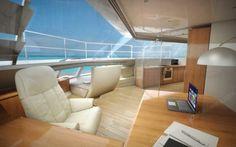 Luxury office on water - office boat - office yacht - luxury yacht