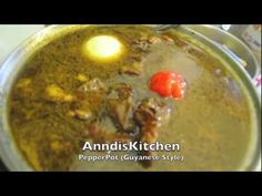 ▶ Pepperpot (Guyanese Style) - YouTube
